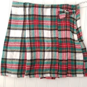 Carter's Plaid Flannel Skirt